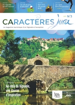 Magazine Oenotourisme Caractères Jura...