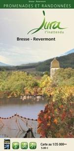 Carto-guide Bresse Revermont - 5 €