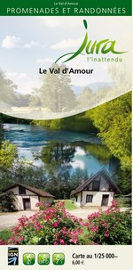 Carto-guide Le Val d'Amour - 6 €