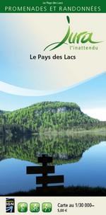 Carto-guide Le Pays des Lacs - 5 €