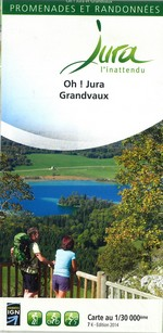 Carto-guide Oh! Jura Grandvaux - 7 €