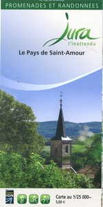 Carto-guide Le Pays de Saint Amour - 5...