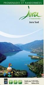 Carto-guide Jura Sud - 5 €