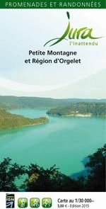 Carto-guide Petite Montagne & Région d'Orgelet - 5...