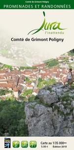 Carto-guide Comté de Grimont-Poligny - 5 €