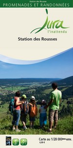 Carto-guide Station des Rousses - 6 €