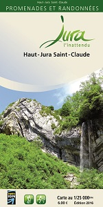 Carto-guide Haut-Jura Saint-Claude - 6...