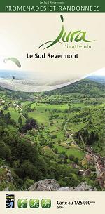 Carto-guide Le Sud Revermont - 5 €