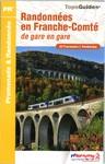 Topoguides® randonnées en Franche-Comté de gare en gare - 14,70 €