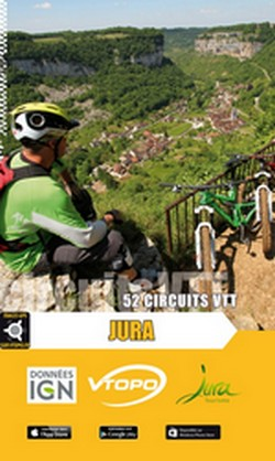 Guide VTT Jura - 19,95 €