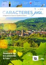 Magazine Oenotourisme Caractères Jura n°2