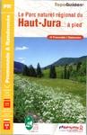 Topoguides® le Parc Naturel Régional du Haut Jura à... pied - 14,70 €